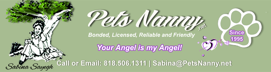 Pets Nanny, San Fernando Valley, California